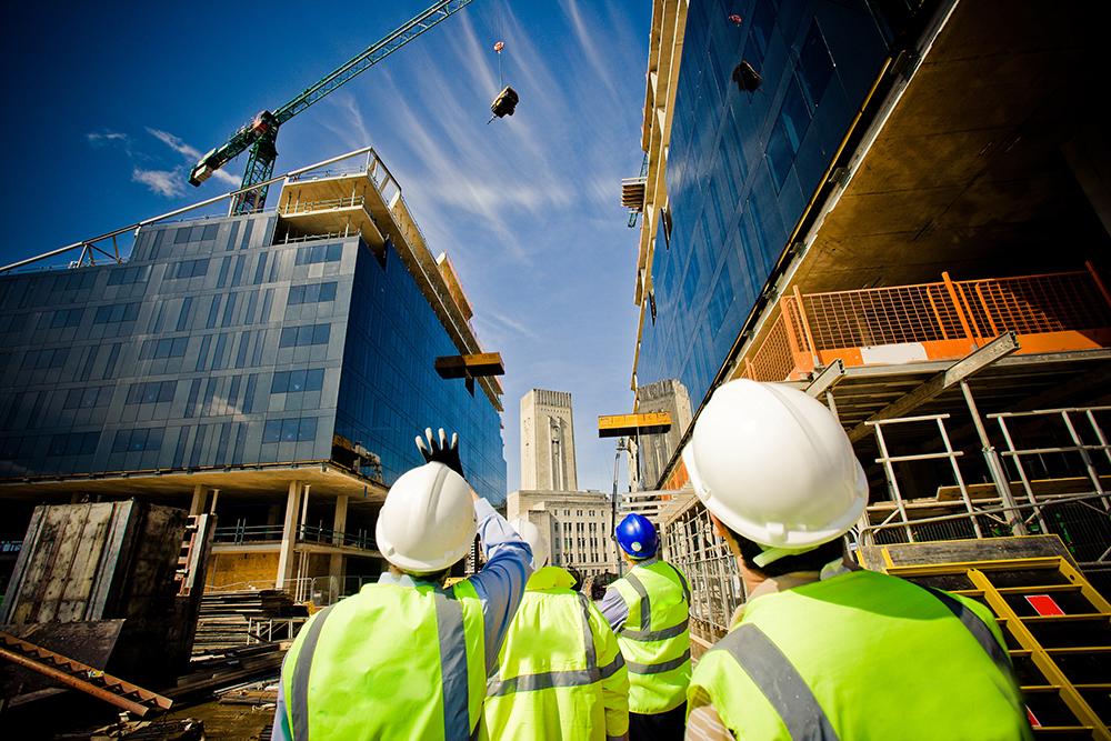 Suivi de chantier d'un bâtiment